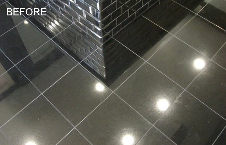 Granite Bathroom Floor Repairing Orange County CA