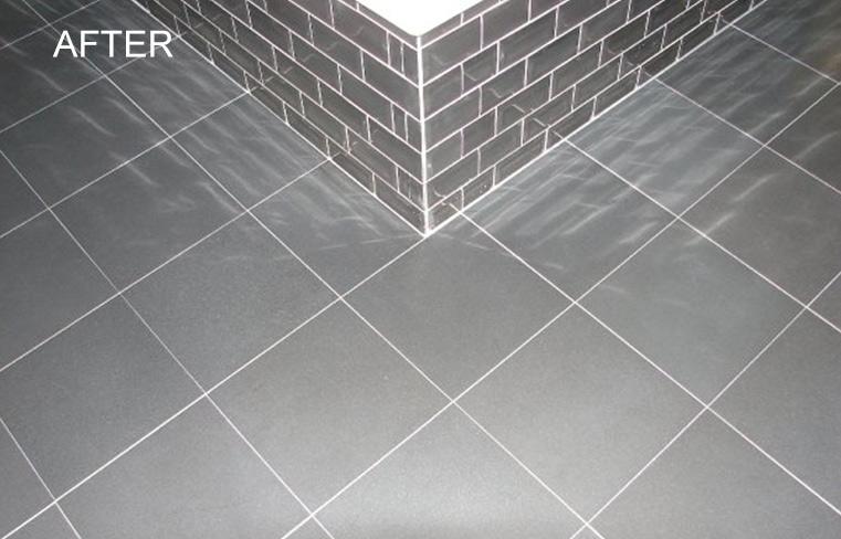 Granite Bathroom Floor Re-Polishing and Honing in Orange County CA