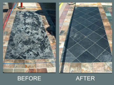 Slate Cleaning, Polishing and Repairing in Southern CA