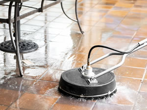 Can those odors be coming from dirty grout lines for How to clean unsealed grout