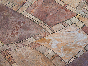 Flagstone Floor Restoration Orange County