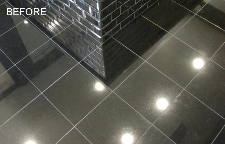 Granite Bathroom Floor Repairing Orange County CA