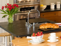 Soapstone Cleaning & Polishing in Newport Beach, Southern CA